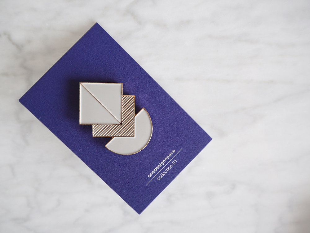 Geometric pins | Product Design - collection 01 | London (UK)