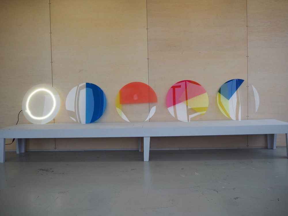 _light source and final disks in colour dyed perspex.jpg