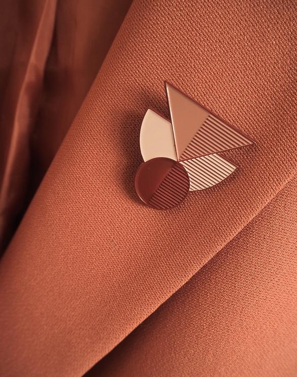 Geometric pins | Collection 02 |  Four Seasons  | London, UK