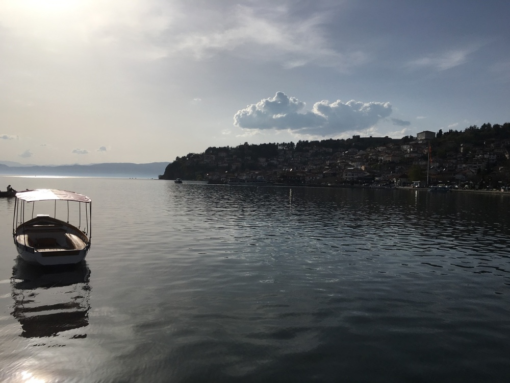 Lake Ohrid cannot be described, it can only be lived and even more so when the water is warm enough for a swim.