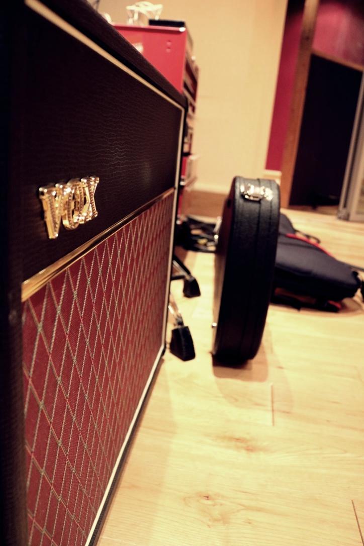 Craig's VOX guitar amplifier