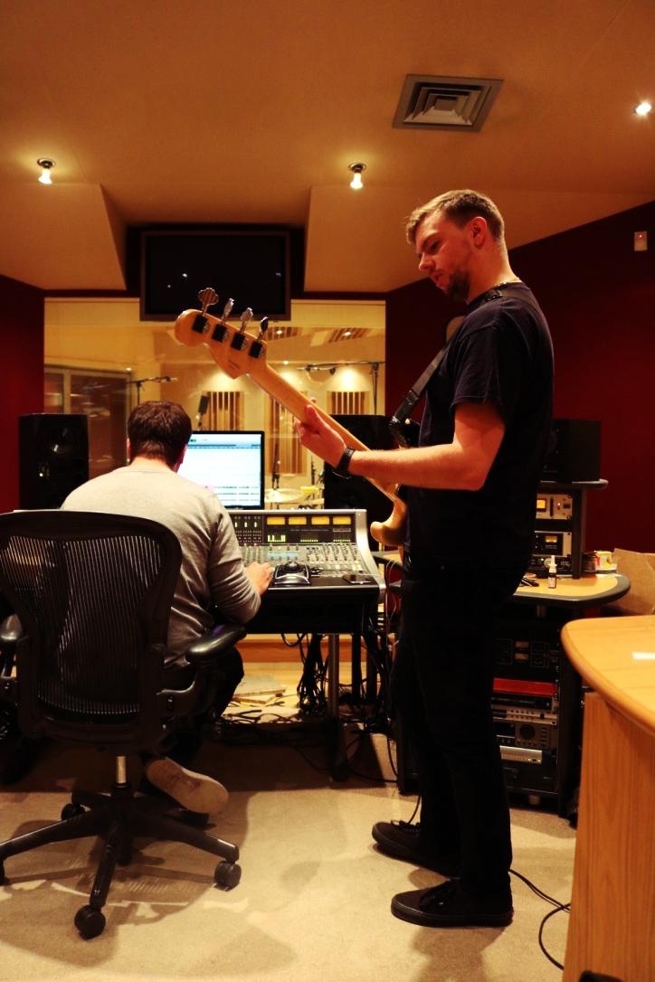 Guitar takes: Carl Wilson on bass