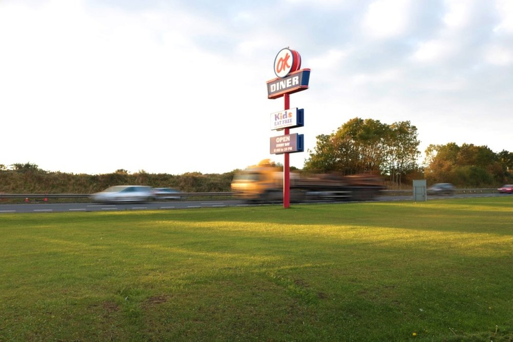OK Diner: a piece of America on the motorway