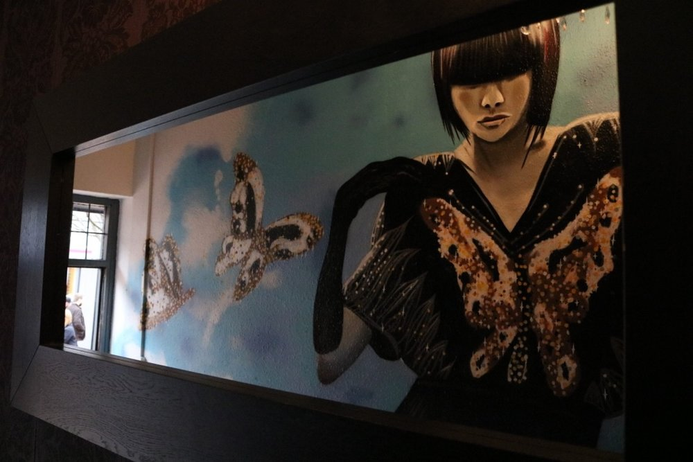 Another breath-taking mural by North East artist Frank Styles