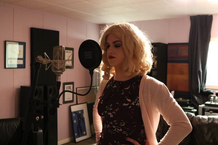 Recording the vocals