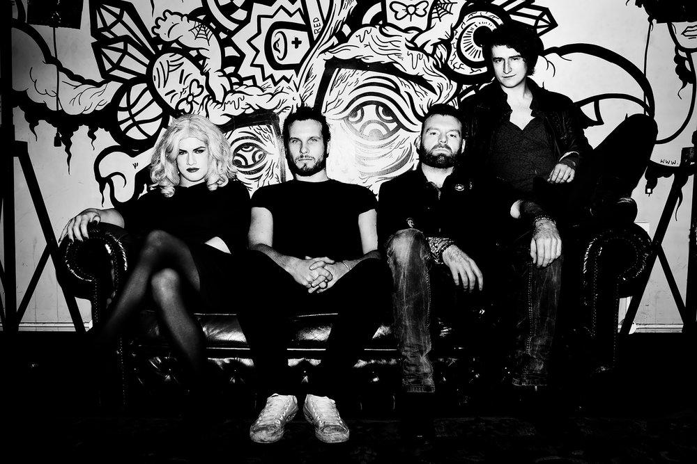 Velvoir - Town: NewcastleDate of Origin: 2015Members: Verity Jasmine Bee (vocals), Adam Sams (guitar), Joe Fannan (bass), Marty Bennett (drums)Edible Music Genre: Chocolate Fondant