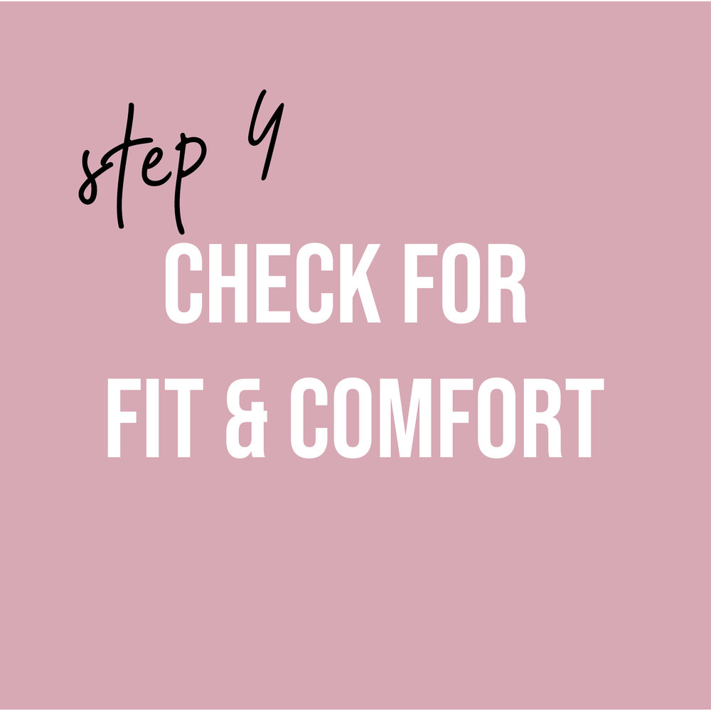 - This step involves trying on your final look in a less expensive fabric to test for shape, fit, comfort, and perform any adjustments to the pattern. This step may involve 1-4 separate checkpoints