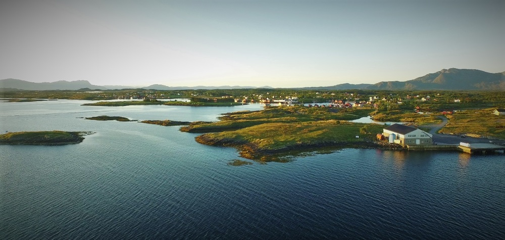 Gardsøy / the location of the new World Heritage Centre at The Vega Archipelago