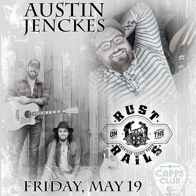 Better get those tickets for this Friday at @cappsclub with our buddy @austinjenckes and solo and duo sets from @codybeebe and @blakenoble and some stories from the Euro Tour - all the details on our Facebook page and website. Hope to see you there!