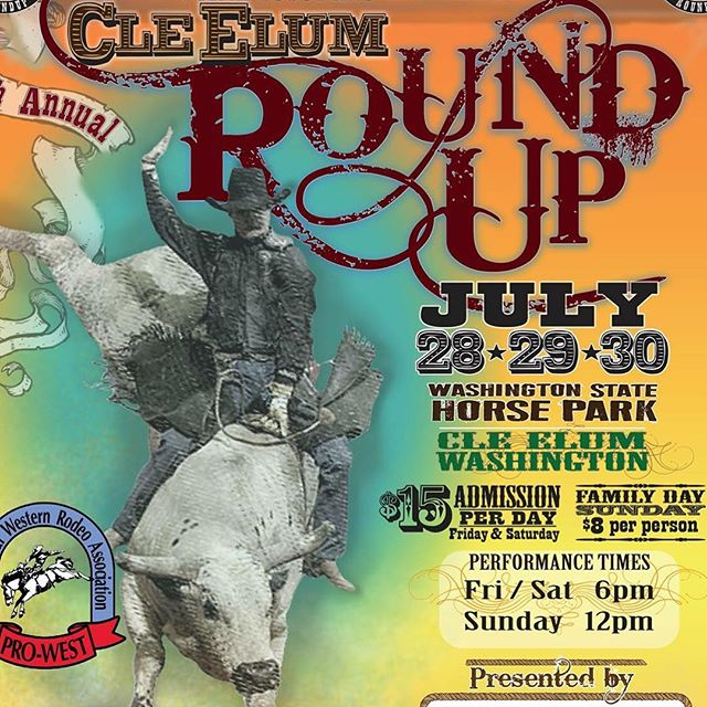 Cle Elum/Ellensburg WA friends and fans, we'll be dusting off our boots at the Cle Elum Round Up this Friday and Saturday night. Come join us at the big after rodeo party.  Show starts at 8pm both nights. A ticket to the rodeo gets you into the show. $5.00 at the door if you can't make the rodeo.  #americanaussieroots #rodeoparty #dancinginthedirt