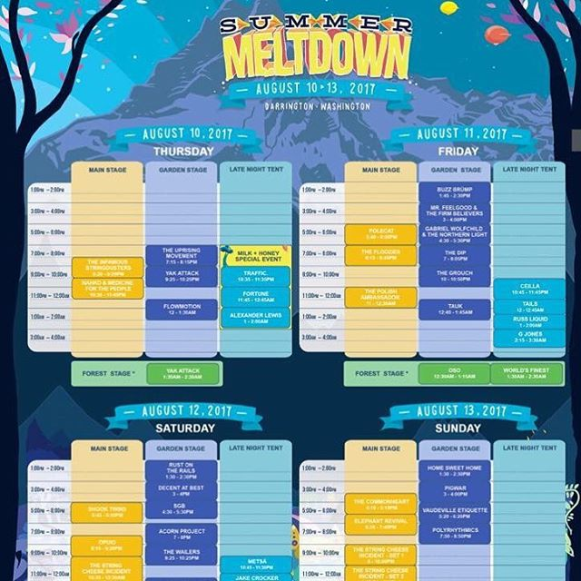 Hello @summermeltdown fans! We are taking over the Summer Meltdown Instagram from 7pm tonight! Follow the @summermeltdown IG page for all the shenanigans. We are incredibly excited for this amazing festival! Check out this killer lineup! #rustontherails #rotrsummermeltdown #americanaussieroots