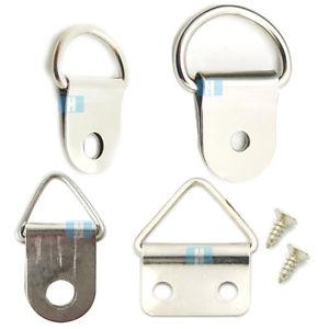 d-ring type hangers will often work.