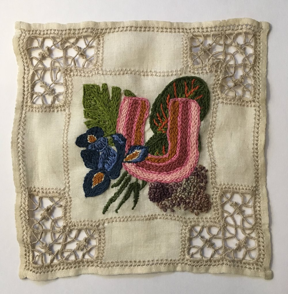 Hand Embroidery, Cotton