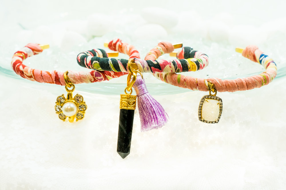Japanese Kimono Bracelets