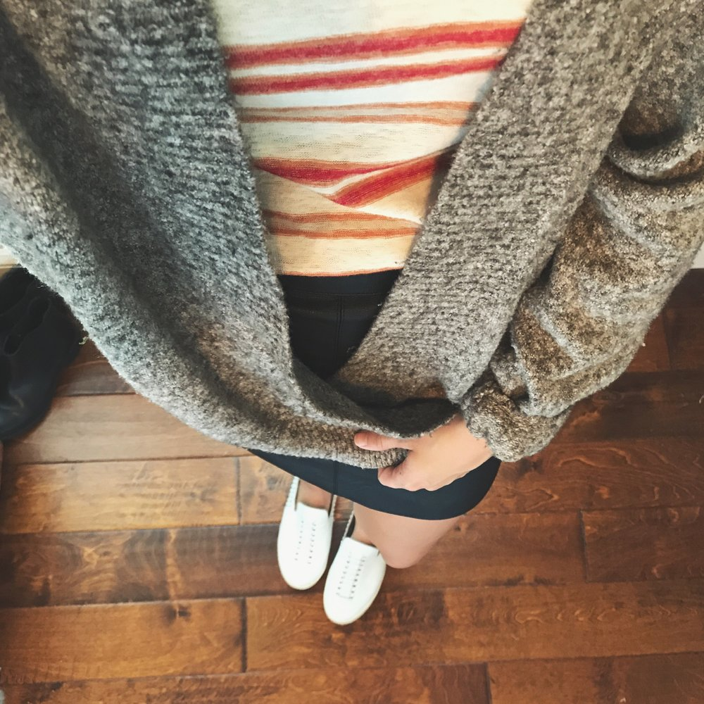 Sweater  (So many of these are sold out)  Skirt     Shirt    Shoes