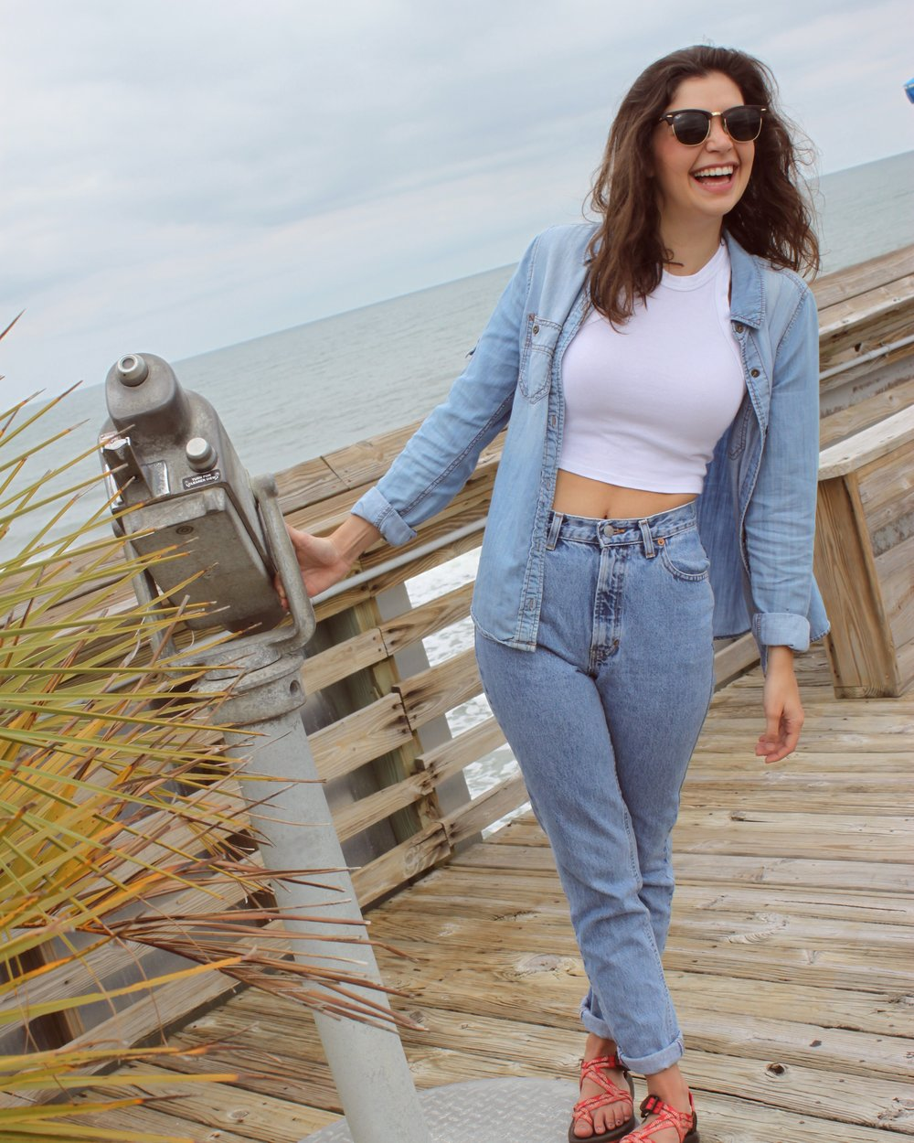 Top     Crop     Jeans     Shoes    Sunnies