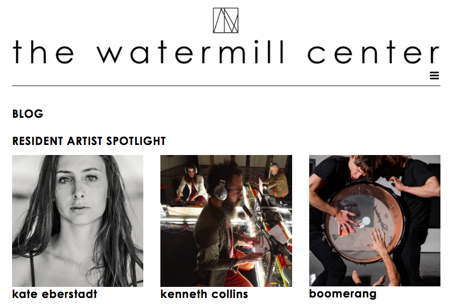 "The Watermill Center: ""Origins - A Reflection on Light"" - February 18th, 2016"