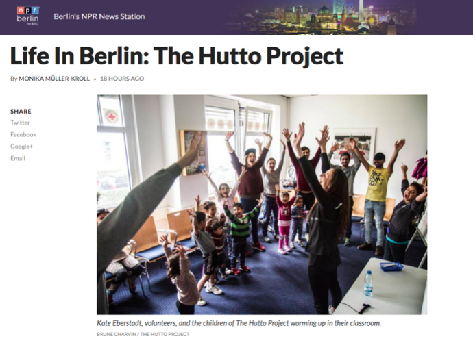 "NPR Berlin: ""Life in Berlin: The Hutto Project"" - May 24th, 2016"