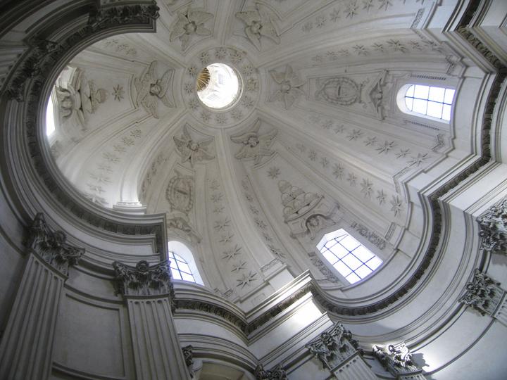 """Sant'Ivo alla Sapienza 1, Rome, 13"""" x 17"""", 2009"""