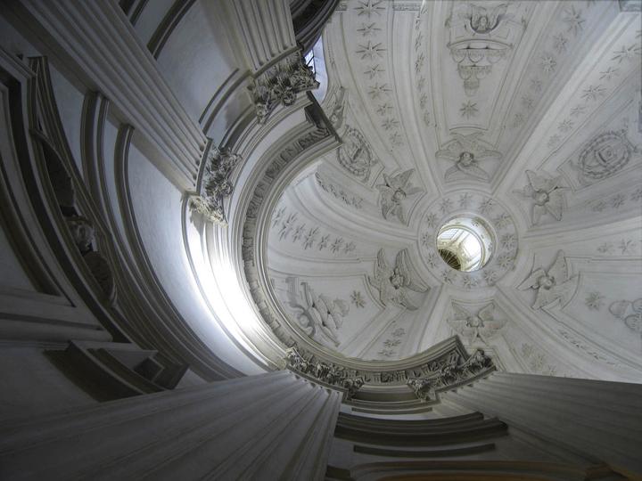 """Sant'Ivo alla Sapienza 4, Rome, 13"""" x 17"""", 2009"""