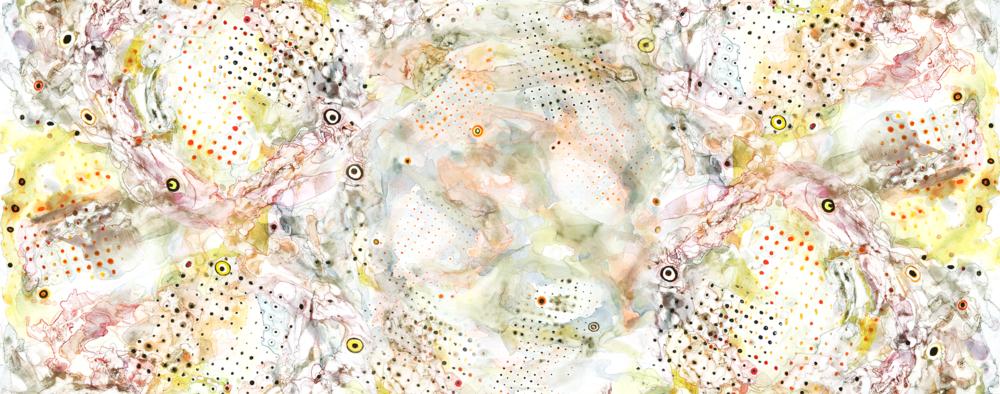 """Il Barone Rampante Series, #2, archival pigment print, 15 3/8"""" x 39"""", 2013"""