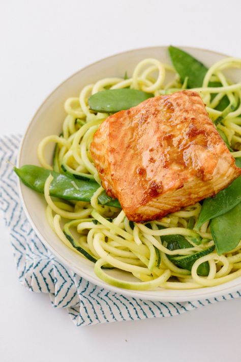 Teriyaki Ginger Salmon