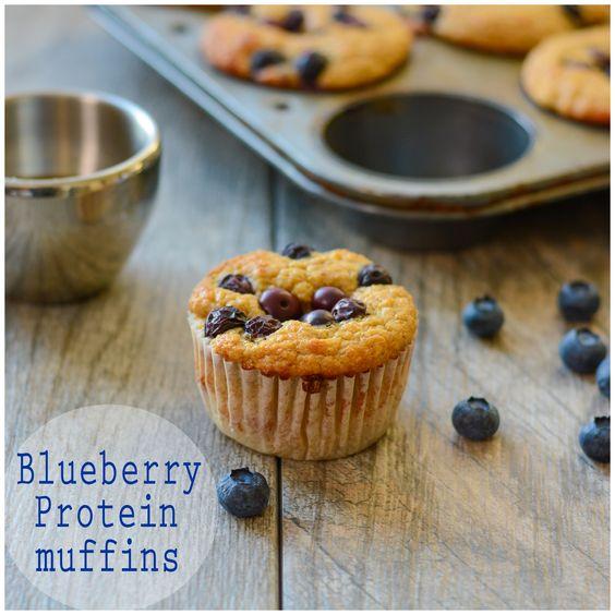 Protein Blueberry Muffins (V)