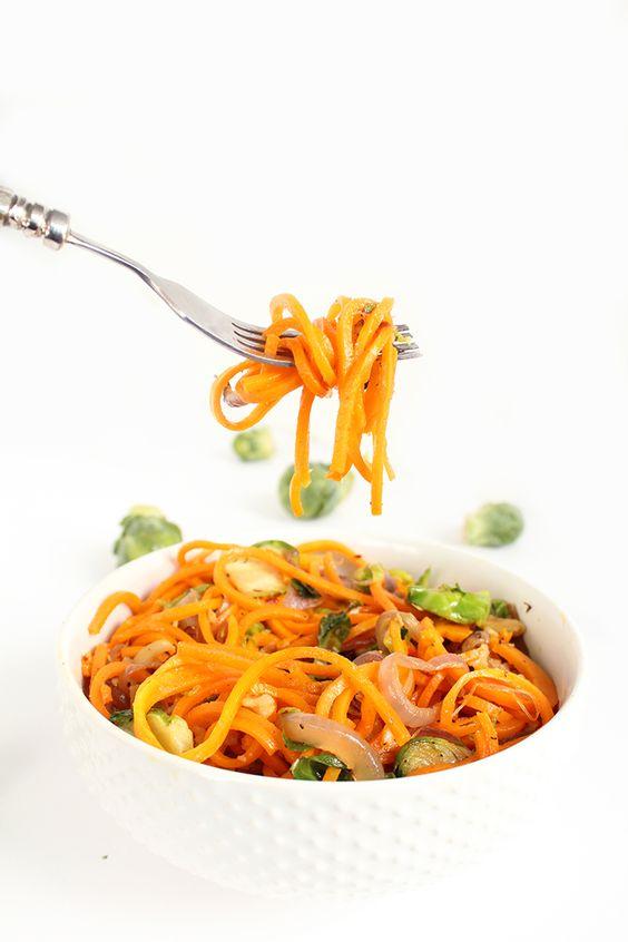 Butternut Squash Noodles (V)