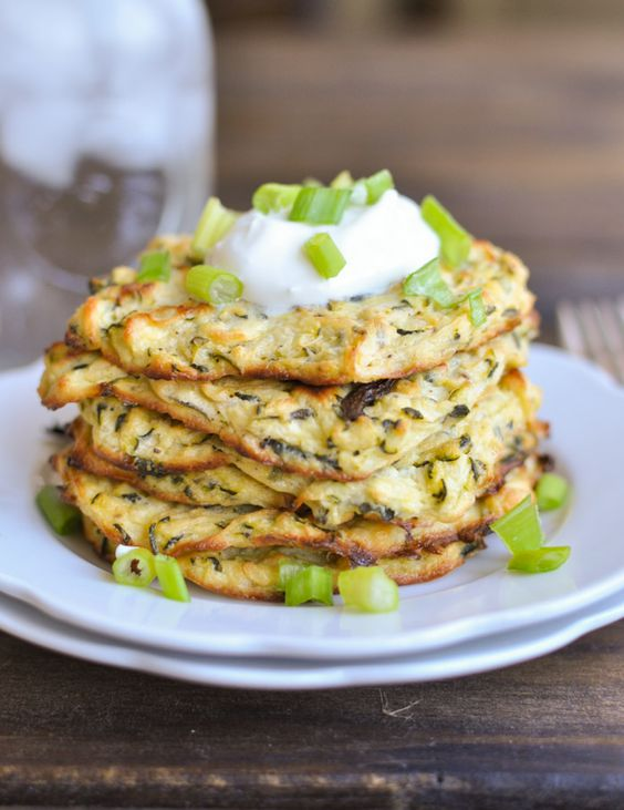 Zucchini Fritters (V)