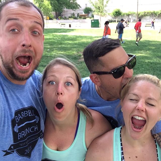 Post-run selfie!