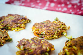 Cabbage and Scallion Fritters (V)