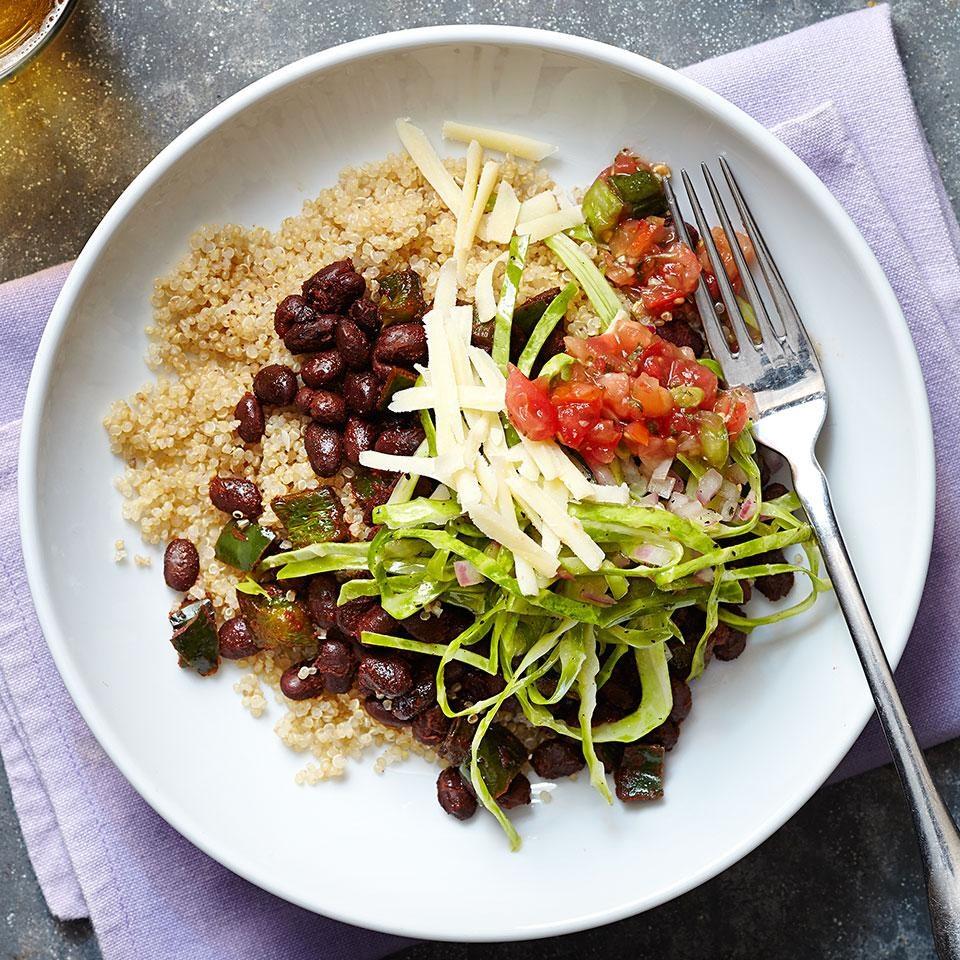 Tex-Mex Vegetarian Quinoa Bowl (V)