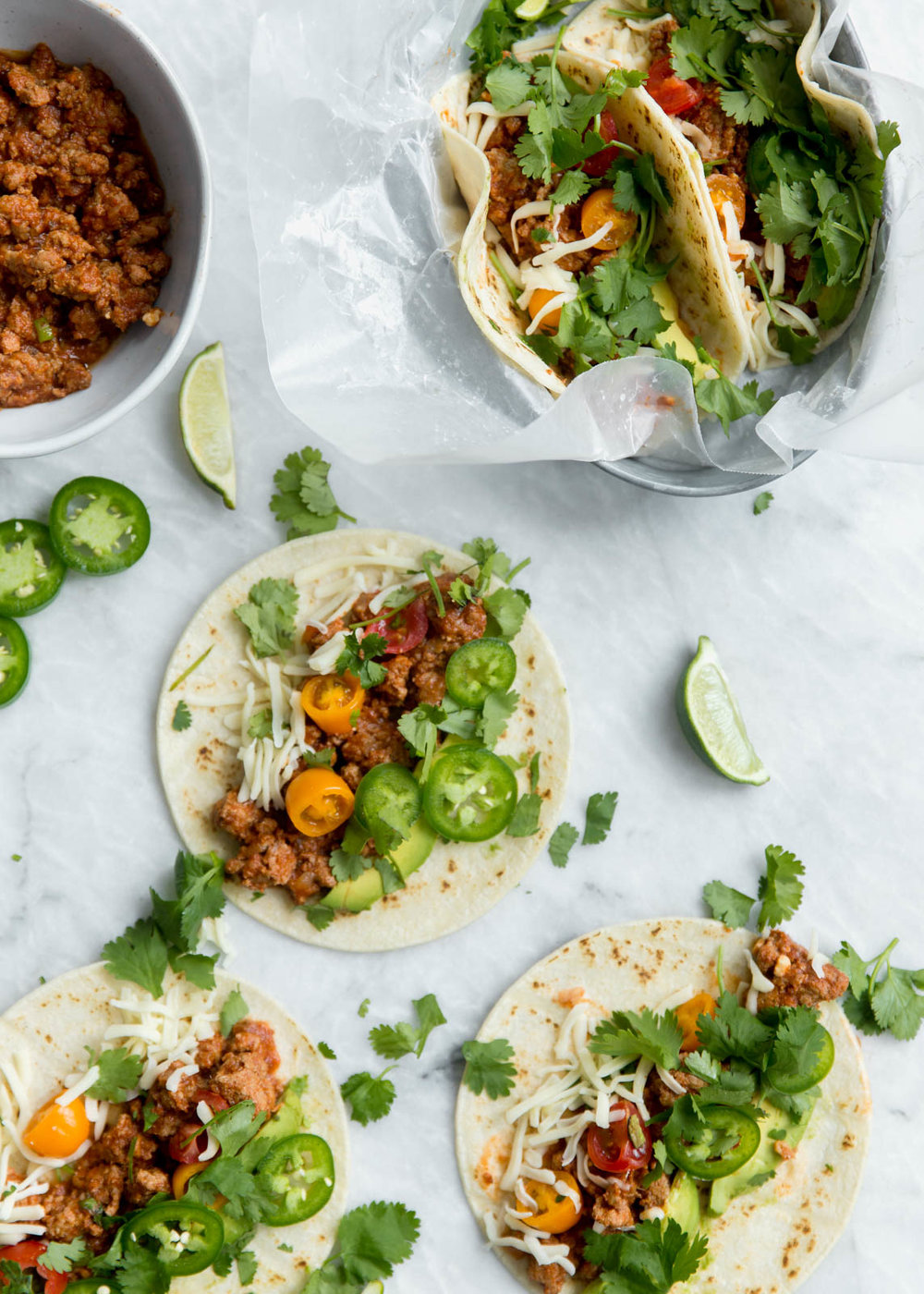 Slow Cooker Turkey Tacos