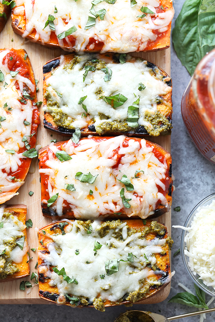 Sweet Potato Pizzas