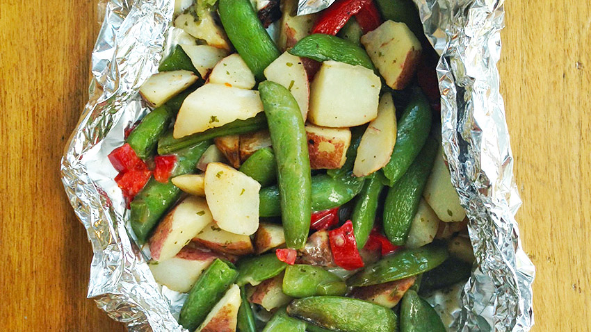 Grill-Ready Veggie Foil Packs