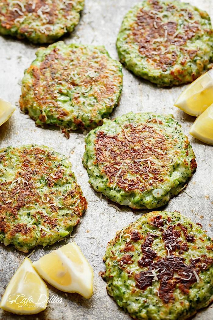 Crispy Broccoli Fritters