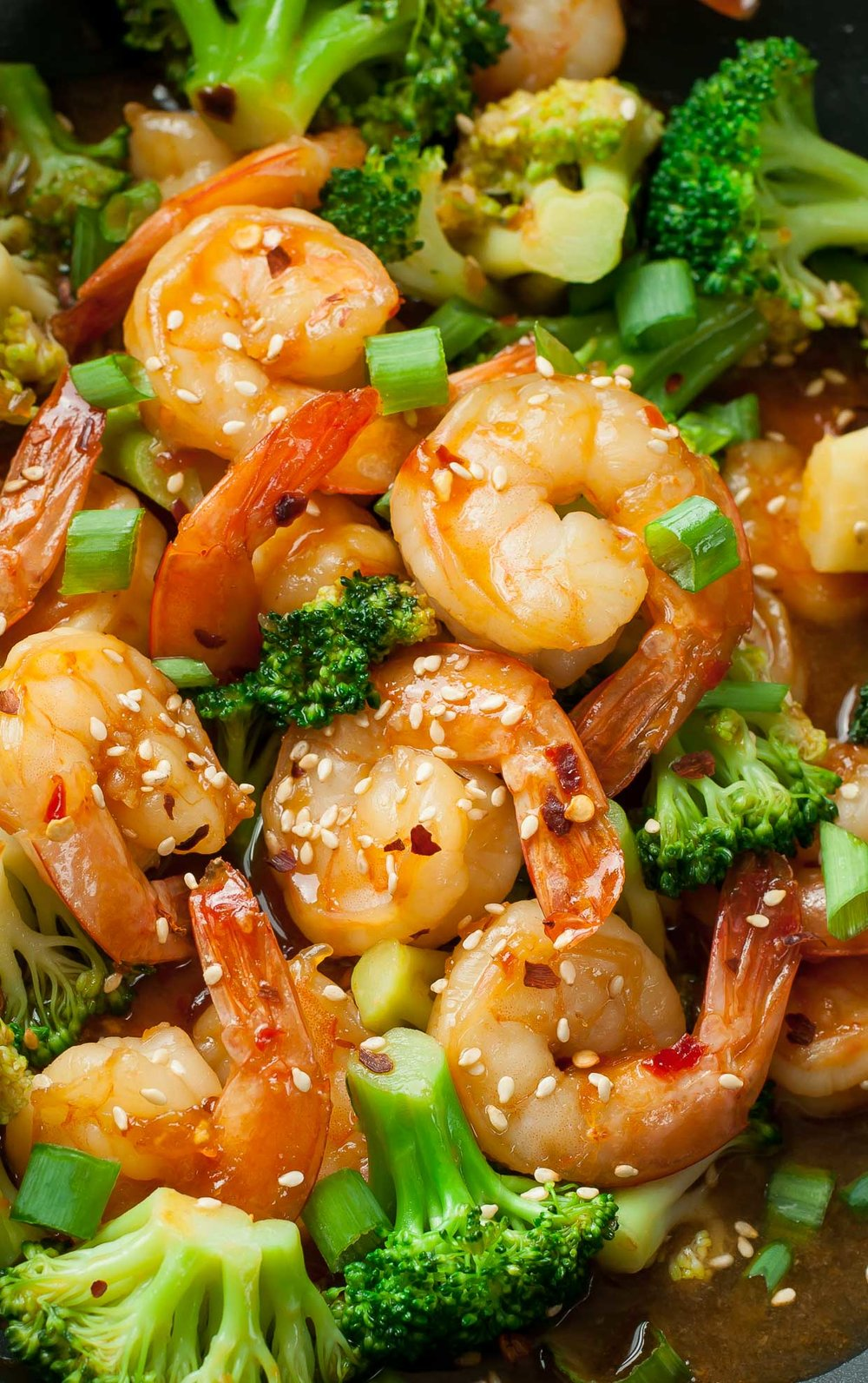 Spicy Szechuan Shrimp and Broccoli Stir-fry