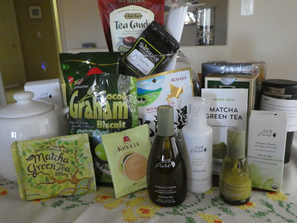 Ways to enjoy tea . . . Hot, cold, lotion, wash, cookie, candy and . . . .