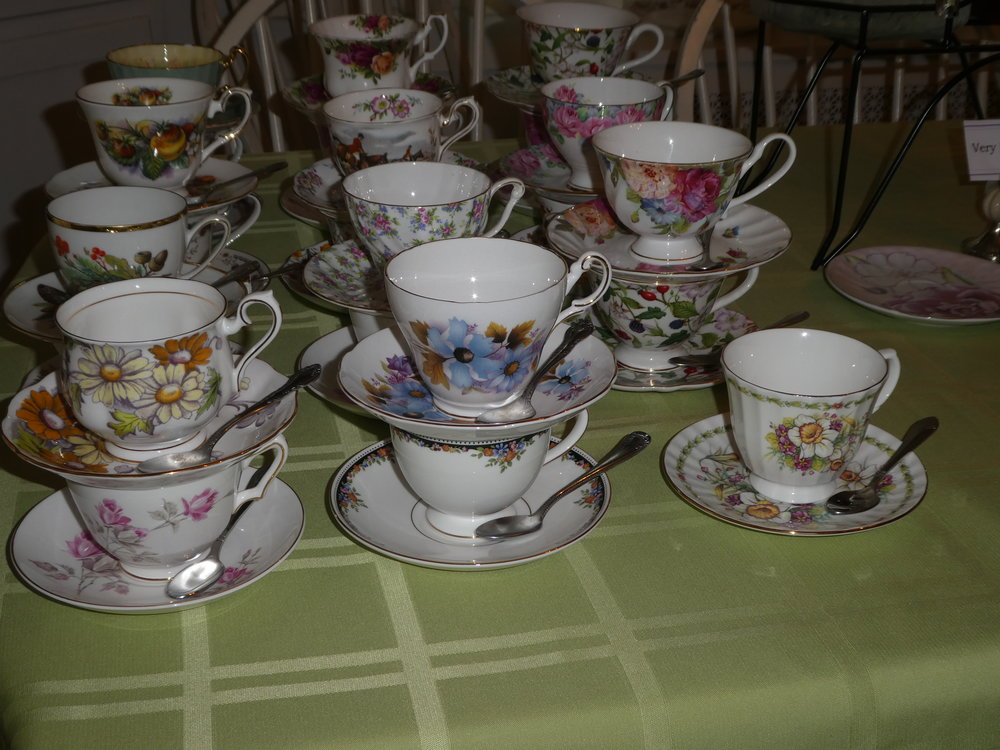 What is Afternoon Tea without a beautiful porcelain tea cup.  Take a friend to a tea room of your choice for Afternoon Tea this week.  The Tea And Hat Lady
