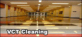 Vinyl flooring stripping and waxing floor cleaning in the phoenix, gilbert, chandler arizona area