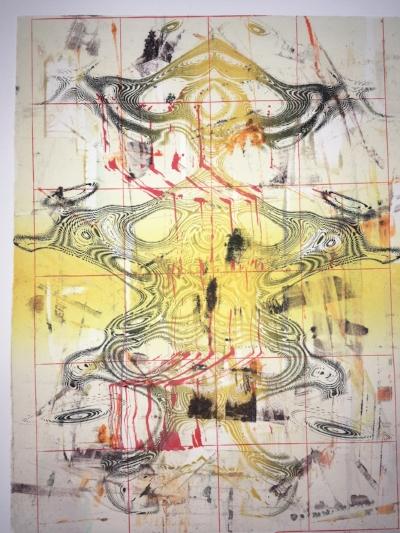 Jeffrey Bishop  Monoprint #16