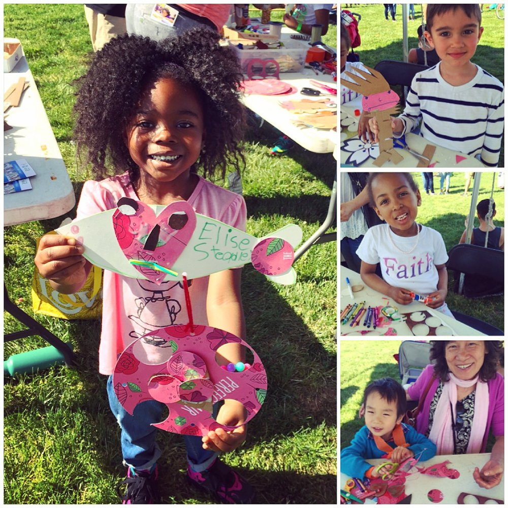 Art-Making at the Anacostia River Fest for CHAW 2016