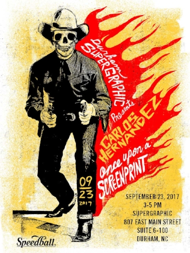 SPECIAL EVENT - CARLOS HERNANDEZ AT SUPERGRAPHIC 9/23