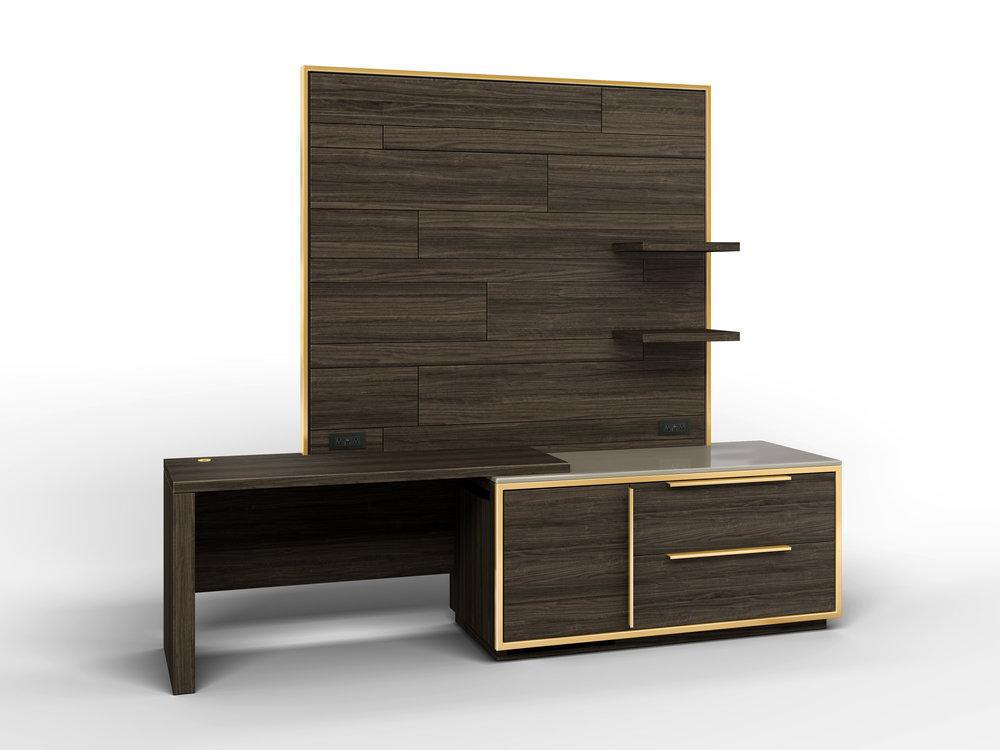 High Line Desk- Fridge Cabinet-Large Wall Panel Combo.jpg