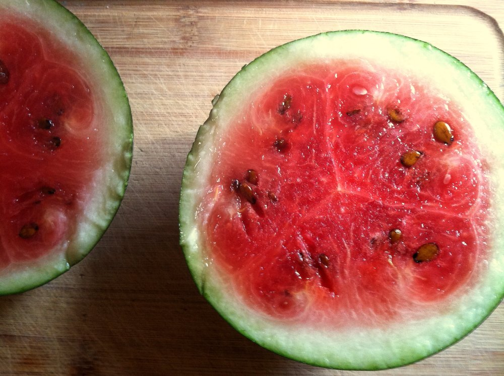 'Blacktail Mountain' watermelon swirls.