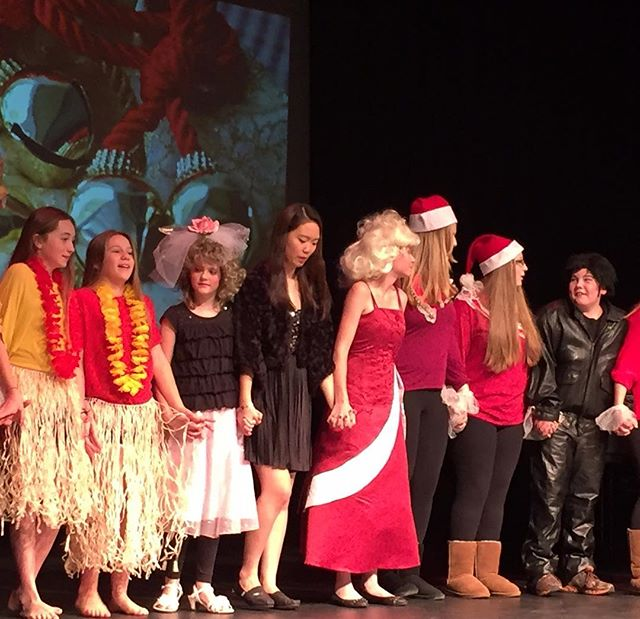 Students helped put on a great Holiday Show!