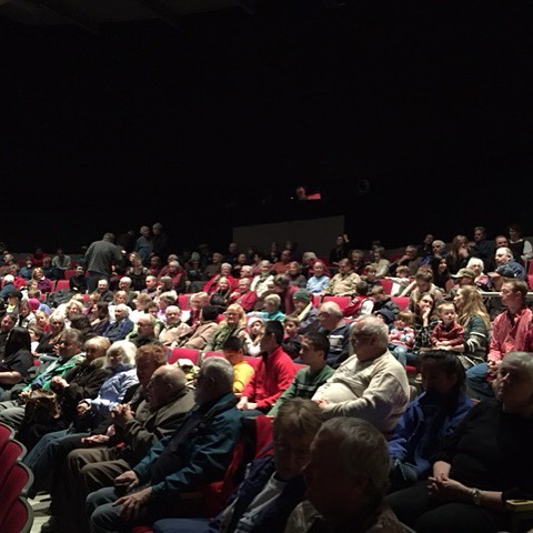 Full house for our Holiday Show!