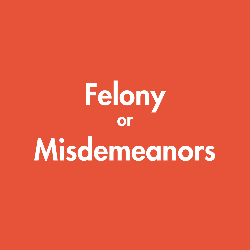 Defending misdemeanor and felony matters.