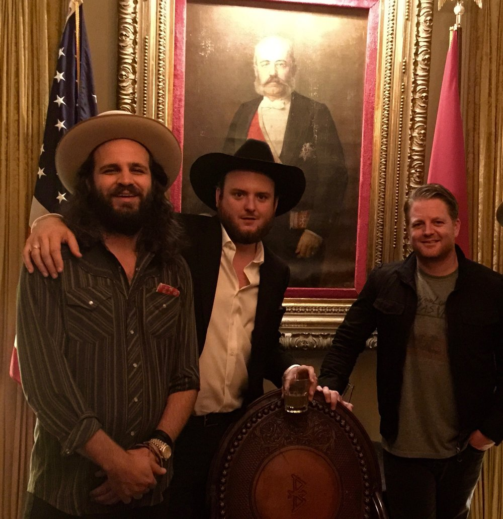The Texas Boys: Beau Bedford (Texas Gentlemen), Paul Cauthen, Jeremy Fischetti (Wreckroom Records). The Standard. Nashville.