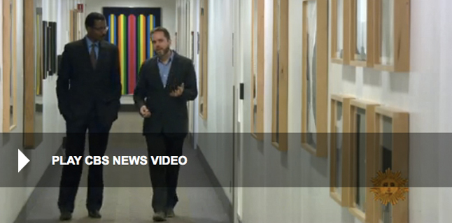 CBS aired a piece on their  Sunday Morning  show about the arts program at Cedars-Sinai Medical Center. Click the image above to view the story on the   CBS web site  .